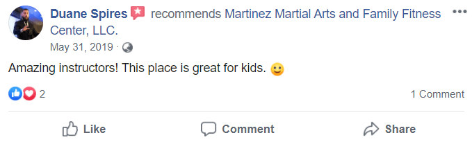 Kids2, Martinez Martial Arts and Family Fitness in Bloomfield, NJ